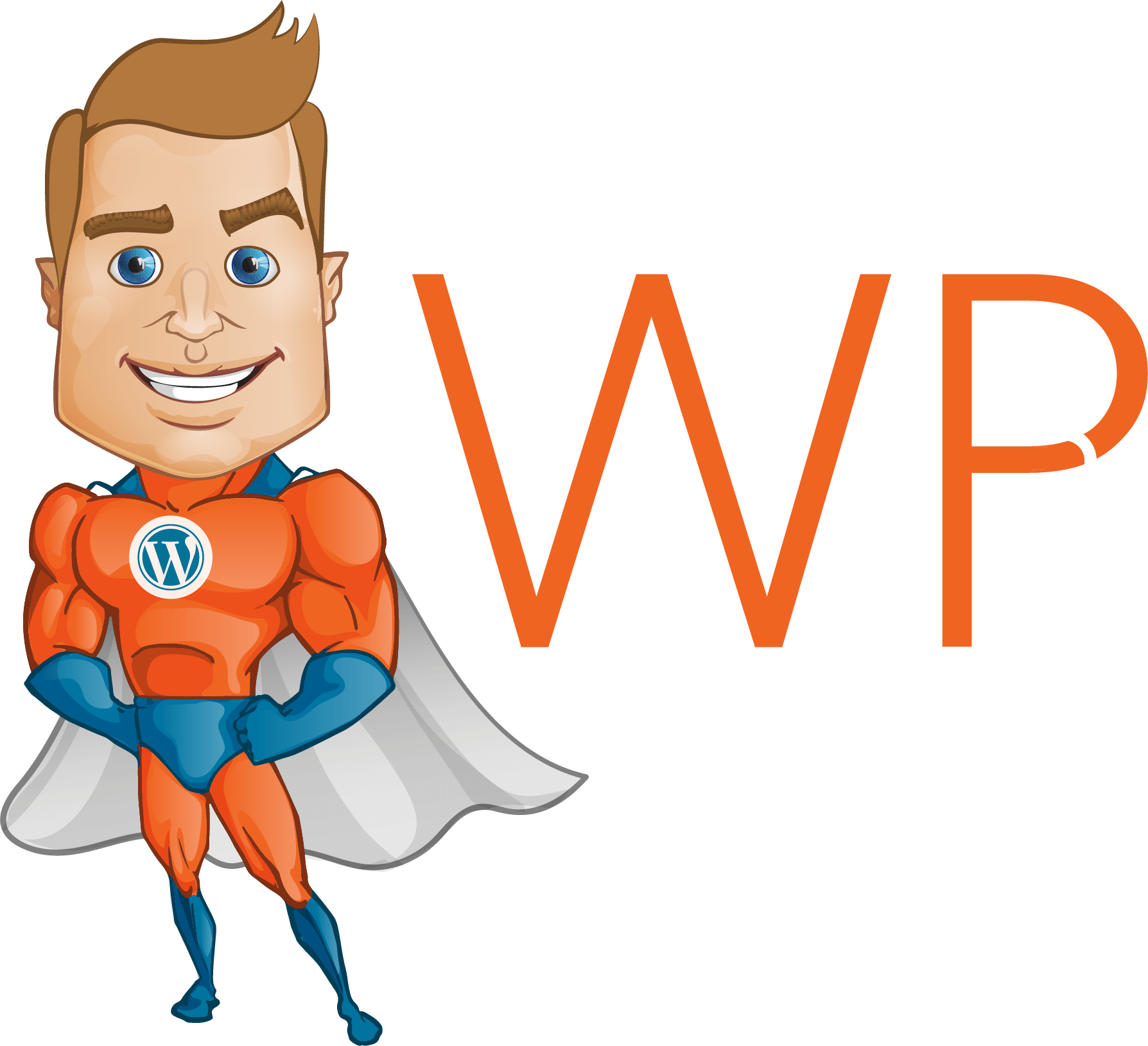 SuperHero WP Logo White