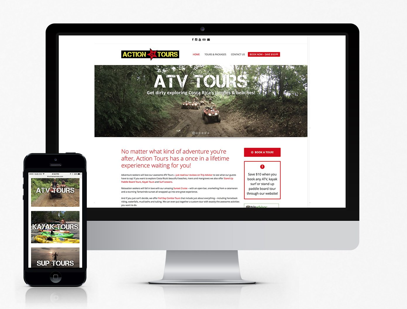 ATV Tamarindo Website