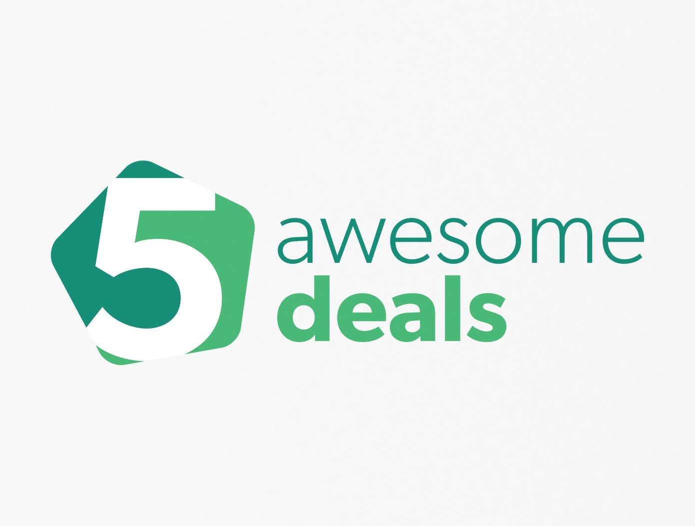 5 Awesome Deals Logo Design Service