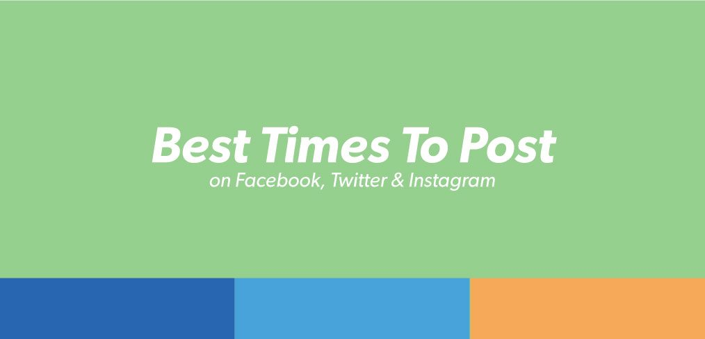 The Best Times To Post On Facebook, Twitter & Instagram