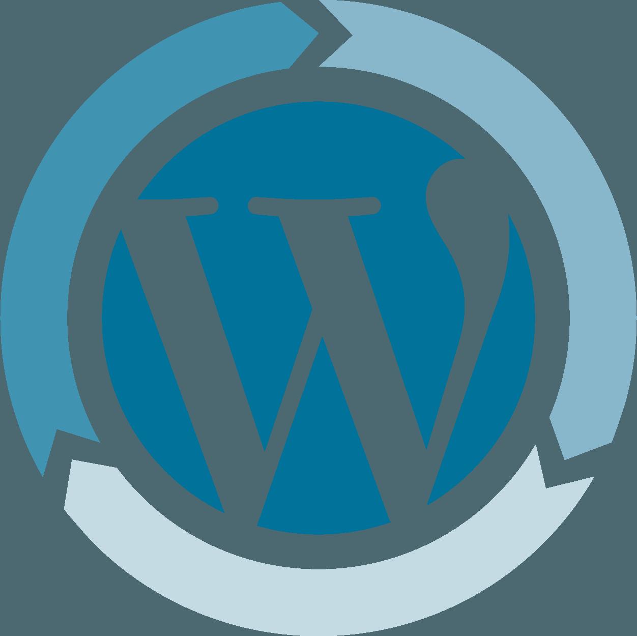 WordPress Up-To-Date Graphic